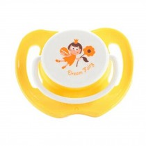 Lovely Cartoon Free Nighttime Infant Pacifier, Dream Fairy,Yellow
