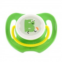 Lovely Cartoon Free Nighttime Infant Pacifier, Frog,Green