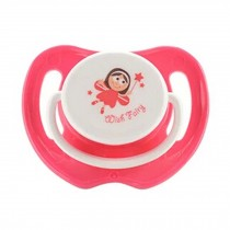 Lovely Cartoon Free Nighttime Infant Pacifier,Wish Fairy,Red