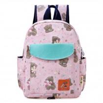 Kids' School Backpack Cute Backpacks School Bag Animal Cartoon Lovely Bear,Pink