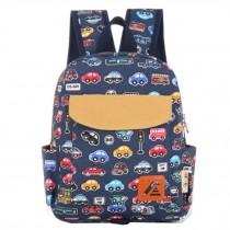Kids' School Backpack Cute Backpacks School Bag Animal Cartoon Cool Car,Blue