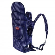 Four Position Baby Carrier with Great Back Support In Winter (Blue Dot)