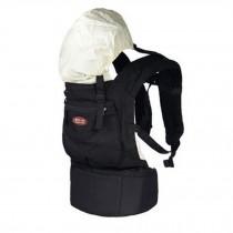Popular Cotton Baby Newborn Carrier Infant With Adjustable Hat(Black)