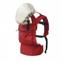 Popular Cotton Baby Newborn Carrier Infant With Adjustable Hat(Red)