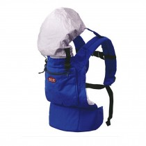 Popular Cotton Baby Newborn Carrier Infant With Adjustable Hat(Blue)