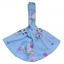 100% Cotton Newborn Baby Carrier Multifunction Straps Simple Sling Blue Sheep