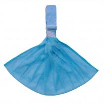 100% Cotton Newborn Baby Carrier Multifunction Straps Simple Sling Net Blue