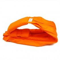 100% Cotton Newborn Baby Carrier Multifunction Straps Simple Sling Orange