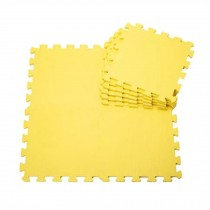Quality Waterproof Baby Foam Playmat Set-9pc /Yellow