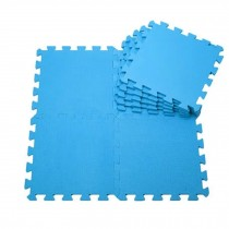 Quality Waterproof Baby Foam Playmat Set-9pc /Blue
