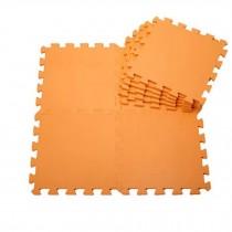 Quality Waterproof Baby Foam Playmat Set-9pc /Orange