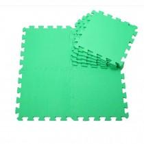 Quality Waterproof Baby Foam Playmat Set-9pc /Green