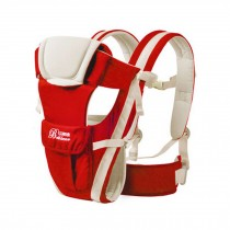 Soft Polyester Baby Carrier Best Child Baby Backpack Cotton belt Red