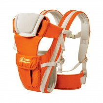 Soft Polyester Baby Carrier Best Child Baby Backpack Cotton belt Orange