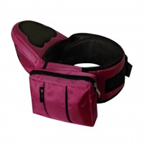 Multifunctional Baby Carrier Kid Hip Seat Carrier/Backpack With Waist Bag Wine