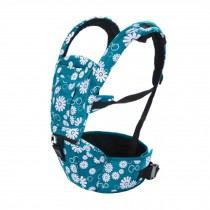 Multifunctional Baby Carrier Waist Stool Strap Carrier,Painted Design Blue