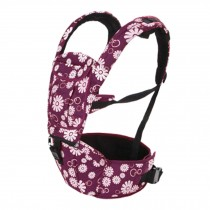 Multifunctional Baby Carrier Waist Stool Strap Carrier,Painted Design Amaranth