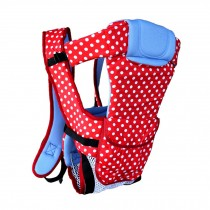 Multifunctional Newborn Baby Carriers For Household & Travel Wave Point Red