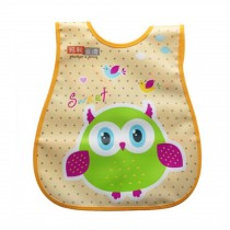 Infant Saliva Towel Lovely Baby Bib Home/Travel Bib Soft,Waterproof,Night Owl