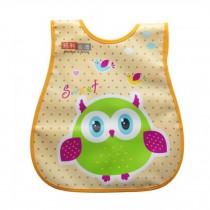 Infant Saliva Towel Lovely Baby Bib Home/Travel Bib Soft,Waterproof,Night Owl