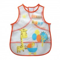 Baby Infant Saliva Towel Lovely Baby Bib Soft,Waterproof,Cartoon Giraffe