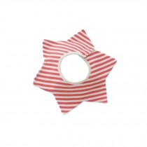 Lovely Cotton Waterproof 360??Rotated Buckle Baby Bib Saliva Towel Red