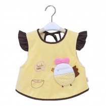 Lovely Chick Waterproof Baby Feeding Clothes  Saliva Towel Baby Bibs, Yellow