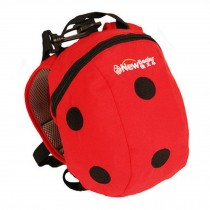 """Kid's Lovely Animal Anti-Lost Bag/Baby""""s Backpack With a Anti-Lost Belt,Ladybird"""