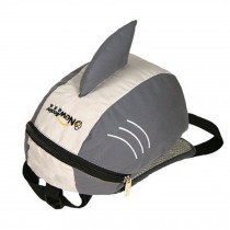 "Kid's Lovely Animal Anti-Lost Bag/Baby""s Backpack With a Anti-Lost Belt,Shark"
