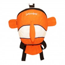 Kid's Lovely Animal Anti-Lost Bag/Backpack With a Anti-Lost Belt, Fish