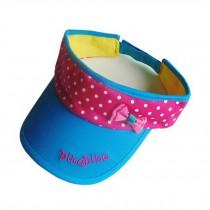 Lovely/Fashion Baby Unisex Solid Sports Visor Cap Peaked Cap Wide Brim Hat Blue