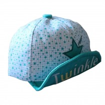 Baby's Summer Outdoor Baseball Cap Twinkle Soft Brim Sun Protection Hat,Green
