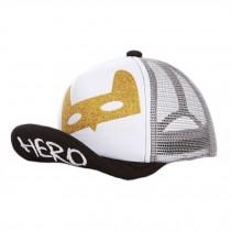 Baby's Summer Outdoor Baseball Cap Mesh Breathable Sun Protection Hat,Black