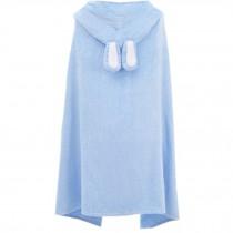 Cute Baby Towel/ Bath Towel/Baby-Washcloths/BABY bathrobe,Blue Rabbit
