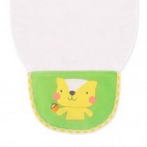 Cute Cartoon Baby Sweat Absorbent Towel Perspiration Wipes Towel,Cat