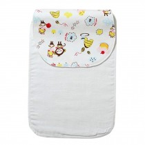 Cute Cartoon Baby Sweat Absorbent Towel Perspiration Wipes Towel,Monkey