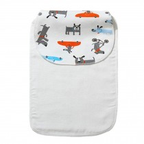 Cute Cartoon Baby Sweat Absorbent Towel Perspiration Wipes Towel,Dog