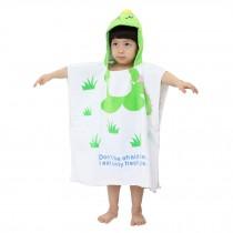 Childrens Cute And Fashion Style Hooded Bath Towel Bathrobes Dinosaur