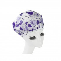 Reusable Waterproof Greaseproof Shower Cap Spa/Bathing Cap Cooking Hat #56
