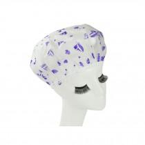 Reusable Waterproof Greaseproof Shower Cap Spa/Bathing Cap Cooking Hat #61