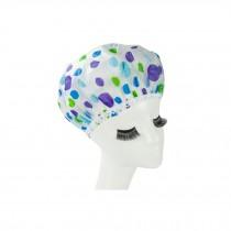 Reusable Waterproof Greaseproof Shower Cap Spa/Bathing Cap Cooking Hat #63