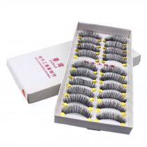 10 Pairs Handmade Natural Soft False Eyelashes Fake Eye Lash/ Long Style