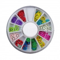 3D Design Nail Art Different DIY Nail Art Stud Wheel Manicure, G