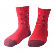 Set of 5 Pairs Women Autumn/Winter Thicken Warm Cute Cotton Socks B
