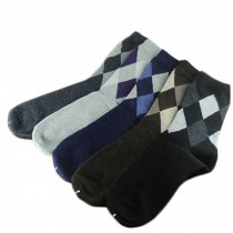 Set of 5 Pairs Men Autumn/Winter Thicken Warm Cotton Socks H