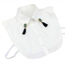 Stylish Clothing Accessories Womens Shirt Collar Detachable Neckband False Collar #13