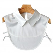 Elegant Korean Fake Collar Shirt Collar Detachable False Collar Stand Collar White A