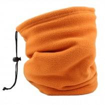 Unisex Warm Scarf Loop Scarfs Headscarf Head Wrap Neck Scarves, Orange