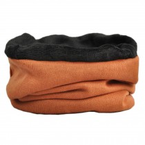 Unisex Warm Scarf Loop Scarfs Headscarf Head Wrap Scarves Cap Hat, Orange