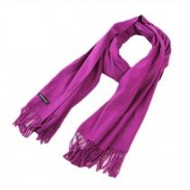 Stylish Cashmere Shawl Luxurious Pashm Tassel Soft Warm Scarf Purple